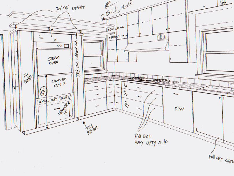 Jc S Kitchen Elevations